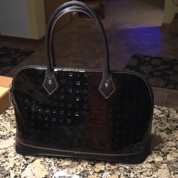 Arcadia Bags   Sale Patent Leather Satchel   Poshmark e2d1b07739